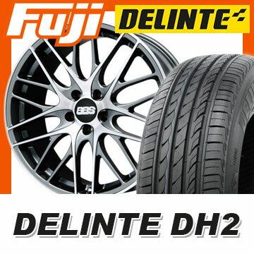 【送料無料】 225/55R18 18インチ BBS GERMANY BBS CS 7.5J 7.50-18 DELINTE デリンテ DH2(限定) サマータイヤ ホイール4本セット