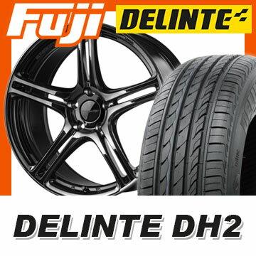 【送料無料】 215/65R16 16インチ BRIDGESTONE ブリヂストン ポテンザ アドレナリン SW005 7J 7.00-16 DELINTE デリンテ DH2(限定) サマータイヤ ホイール4本セット