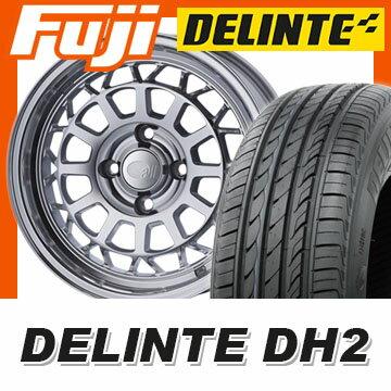 【送料無料】 195/60R15 15インチ ENKEI エンケイ allシリーズ オールナイン 6J 6.00-15 DELINTE デリンテ DH2(限定) サマータイヤ ホイール4本セット