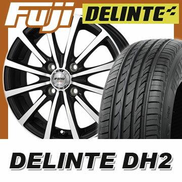 【送料無料】 185/65R14 14インチ MONZA モンツァ JPスタイルシャングリー 5.5J 5.50-14 DELINTE デリンテ DH2(限定) サマータイヤ ホイール4本セット