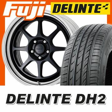 【送料無料】 225/40R18 18インチ WORK ワーク シーカー EX 7.5J 7.50-18 DELINTE デリンテ DH2(限定) サマータイヤ ホイール4本セット