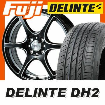 【送料無料 エブリイワゴン】 165/50R15 15インチ 5ZIGEN ゴジゲン PROレーサーDF-V6 5J 5.00-15 DELINTE デリンテ DH2(限定) サマータイヤ ホイール4本セット