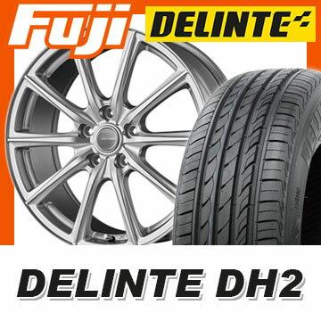 【送料無料】 205/60R16 16インチ BRIDGESTONE ブリヂストン エコフォルム SE-15 6.5J 6.50-16 DELINTE デリンテ DH2(限定) サマータイヤ ホイール4本セット