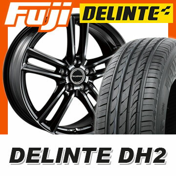 【送料無料】 225/40R18 18インチ BRIDGESTONE ブリヂストン バルミナ S5 7.5J 7.50-18 DELINTE デリンテ DH2(限定) サマータイヤ ホイール4本セット