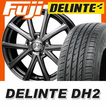 【送料無料】 195/55R16 16インチ BLEST ブレスト ユーロマジック アスパイアFX 6.5J 6.50-16 DELINTE デリンテ DH2(限定) サマータイヤ ホイール4本セット
