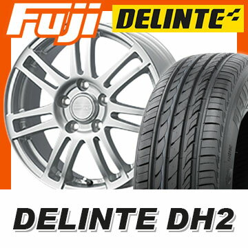 【送料無料】 185/65R15 15インチ DUNLOP ダンロップ マクベス MA7 6J 6.00-15 DELINTE デリンテ DH2(限定) サマータイヤ ホイール4本セット