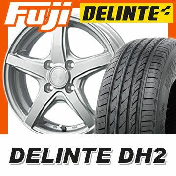 【送料無料 ノート】 185/65R15 15インチ DUNLOP ダンロップ ヴィオレント JS 5.5J 5.50-15 DELINTE デリンテ DH2(限定) サマータイヤ ホイール4本セット