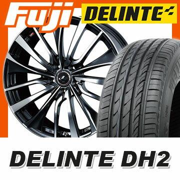 【送料無料】 215/60R16 16インチ WEDS ウェッズ レオニス VT 6.5J 6.50-16 DELINTE デリンテ DH2(限定) サマータイヤ ホイール4本セット