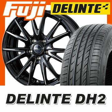 【送料無料】 195/55R16 16インチ WEDS ウェッズ ライツレー ゼファイス X 6.5J 6.50-16 DELINTE デリンテ DH2(限定) サマータイヤ ホイール4本セット