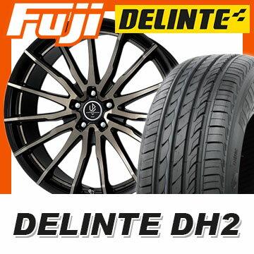 【送料無料】 245/40R21 21インチ WORK ワーク アバンツォーネ フィルボーレ 8.5J 8.50-21 DELINTE デリンテ DH2(限定) サマータイヤ ホイール4本セット