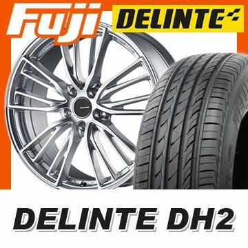 【送料無料】 225/50R18 18インチ BRIDGESTONE ブリヂストン レイナー BW25S 7.5J 7.50-18 DELINTE デリンテ DH2(限定) サマータイヤ ホイール4本セット