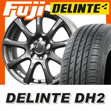 【送料無料】 185/65R15 15インチ DUNLOP ダンロップ デュファクト DS9 6J 6.00-15 DELINTE デリンテ DH2(限定) サマータイヤ ホイール4本セット