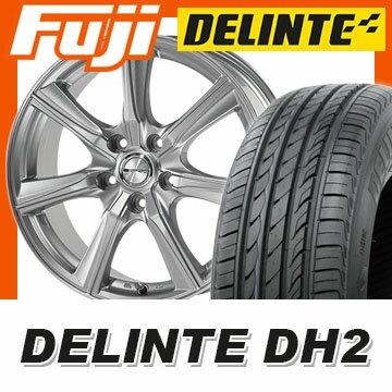 【送料無料】 205/50R16 16インチ DUNLOP ダンロップ PRD TS7 6J 6.00-16 DELINTE デリンテ DH2(限定) サマータイヤ ホイール4本セット