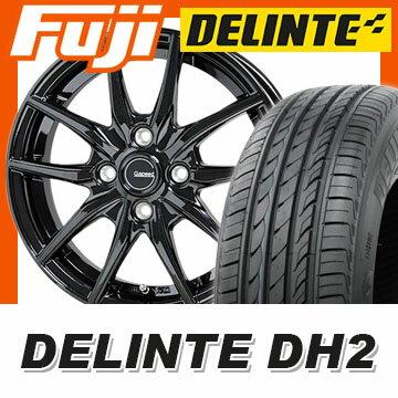 【送料無料】 185/60R15 15インチ HOT STUFF ホットスタッフ ジースピード G-02 5.5J 5.50-15 DELINTE デリンテ DH2(限定) サマータイヤ ホイール4本セット