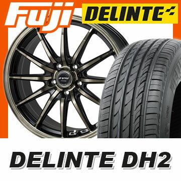 【送料無料】 235/45R18 18インチ MONZA モンツァ JPスタイルバークレー 8J 8.00-18 DELINTE デリンテ DH2(限定) サマータイヤ ホイール4本セット