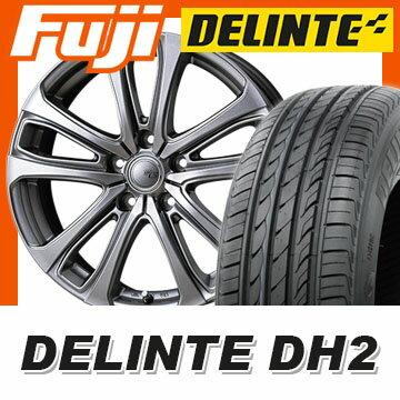 【送料無料】 235/50R18 18インチ TOPY トピー シビラ NEXT L-5 7.5J 7.50-18 DELINTE デリンテ DH2(限定) サマータイヤ ホイール4本セット