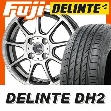 【送料無料】 205/50R16 16インチ HOT STUFF ホットスタッフ ジースピード P-01 6J 6.00-16 DELINTE デリンテ DH2(限定) サマータイヤ ホイール4本セット