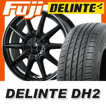 【送料無料】 215/60R17 17インチ PIAA ピア ユーロスポルト S10R 7J 7.00-17 DELINTE デリンテ DH2(限定) サマータイヤ ホイール4本セット