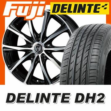 【送料無料】 235/50R18 18インチ WEDS ウェッズ ライツレー ZM 7.5J 7.50-18 DELINTE デリンテ DH2(限定) サマータイヤ ホイール4本セット