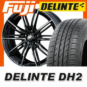 【送料無料】 195/55R16 16インチ WEDS ウェッズスポーツ SA-54R 7J 7.00-16 DELINTE デリンテ DH2(限定) サマータイヤ ホイール4本セット