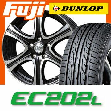 【送料無料】 205/55R16 16インチ TOPY トピー セレブロ X6 6.5J 6.50-16 DUNLOP ダンロップ EC202L サマータイヤ ホイール4本セット【DU17sum】