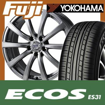 【送料無料】 205/60R16 16インチ MONZA モンツァ ZACK JP-110 10スポーク 6.5J 6.50-16 YOKOHAMA ヨコハマ エコス ES31 サマータイヤ ホイール4本セット【YO17sum】