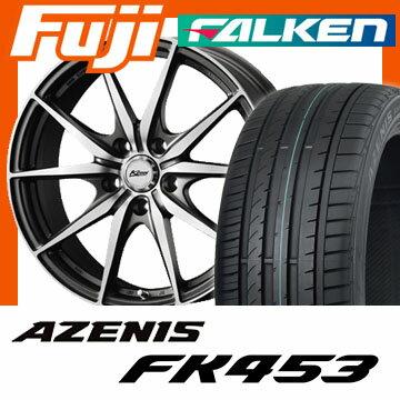 【送料無料】 235/45R18 18インチ KOSEI コーセイ レーシング KZ 7.5J 7.50-18 FALKEN ファルケン アゼニス FK453(限定) サマータイヤ ホイール4本セット