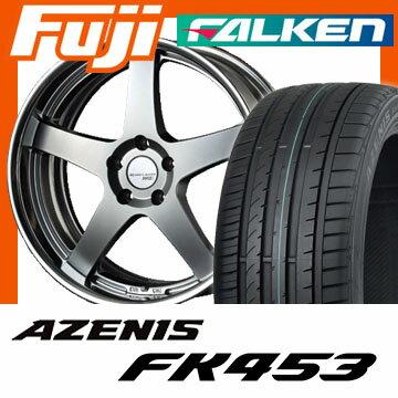 【送料無料】 235/45R18 18インチ SSR エグゼキューター EX01 8J 8.00-18 FALKEN ファルケン アゼニス FK453(限定) サマータイヤ ホイール4本セット 輸入車