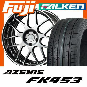 【送料無料】 225/35R19 19インチ SSR エグゼキューター EX02 8J 8.00-19 FALKEN ファルケン アゼニス FK453(限定) サマータイヤ ホイール4本セット