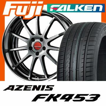 【送料無料】 235/45R18 18インチ SSR エグゼキューター EX04 8J 8.00-18 FALKEN ファルケン アゼニス FK453(限定) サマータイヤ ホイール4本セット 輸入車
