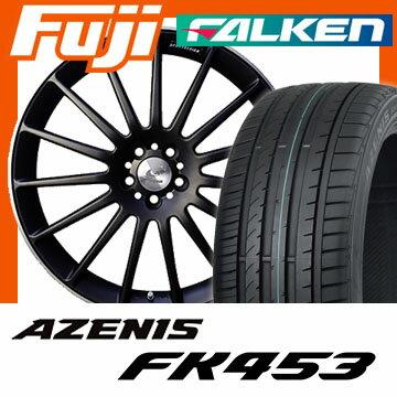 【送料無料】 245/45R19 19インチ GRAZIO グラージオ エディション-1 8J 8.00-19 FALKEN ファルケン アゼニス FK453(限定) サマータイヤ ホイール4本セット