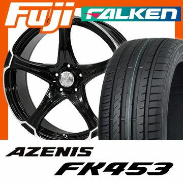 【送料無料】 245/45R19 19インチ ALGERNON アルジェノン フェニーチェ TT-1 8J 8.00-19 FALKEN ファルケン アゼニス FK453(限定) サマータイヤ ホイール4本セット