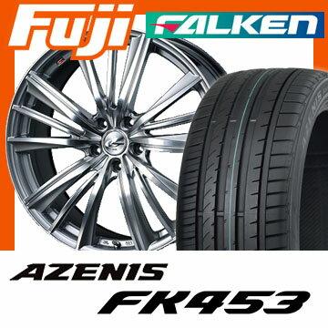 【送料無料】 235/30R20 20インチ WEDS ウェッズ レオニス FY 8.5J 8.50-20 FALKEN ファルケン アゼニス FK453(限定) サマータイヤ ホイール4本セット