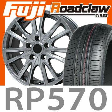 【送料無料】 215/60R16 16インチ BRANDLE ブランドル 485 6.5J 6.50-16 ROADCLAW ロードクロウ RP570+(限定) サマータイヤ ホイール4本セット