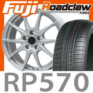 【送料無料】 215/60R16 16インチ BRANDLE ブランドル 039 7J 7.00-16 ROADCLAW ロードクロウ RP570+(限定) サマータイヤ ホイール4本セット