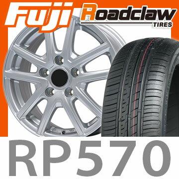 【送料無料】 215/60R16 16インチ BRANDLE ブランドル M61 7J 7.00-16 ROADCLAW ロードクロウ RP570+(限定) サマータイヤ ホイール4本セット