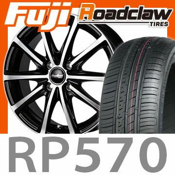 【送料無料】 205/55R16 16インチ MANARAY マナレイ ユーロスピード V25 6J 6.00-16 ROADCLAW ロードクロウ RP570+(限定) サマータイヤ ホイール4本セット