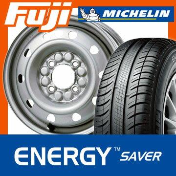 【送料無料】 155/65R13 13インチ ELBE エルベ オリジナル スチール M52 4J 4.00-13 MICHELIN ミシュラン エナジー セイバー サマータイヤ ホイール4本セット【MI17sum】