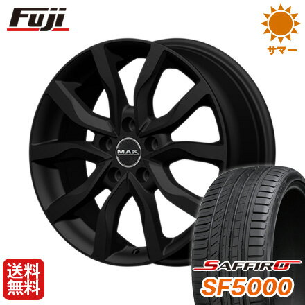 【送料無料】 215/65R16 16インチ MAK ケルン 6.5J 6.50-16 SAFFIRO サフィーロ SF5000(限定) サマータイヤ ホイール4本セット