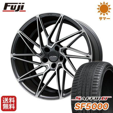 【送料無料】 255/35R20 20インチ ACE ドリブン 8.5J 8.50-20 SAFFIRO サフィーロ SF5000(限定) サマータイヤ ホイール4本セット