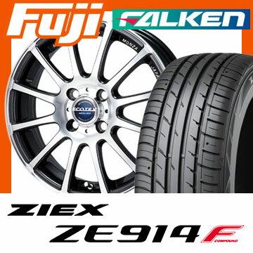 【送料無料】 195/50R15 15インチ MONZA モンツァ エコテック MCM-012 6J 6.00-15 FALKEN ファルケン ジークス ZE914F サマータイヤ ホイール4本セット