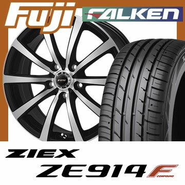 【送料無料】 205/60R16 16インチ MONZA モンツァ JPスタイルMBS 6.5J 6.50-16 FALKEN ファルケン ジークス ZE914F サマータイヤ ホイール4本セット