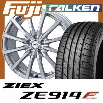 【送料無料】 205/60R16 16インチ MONZA モンツァ ZACK JP-112 6.5J 6.50-16 FALKEN ファルケン ジークス ZE914F サマータイヤ ホイール4本セット