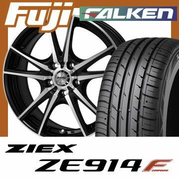 【送料無料】 205/65R16 16インチ MONZA モンツァ JPスタイルヴォーゲル 6.5J 6.50-16 FALKEN ファルケン ジークス ZE914F サマータイヤ ホイール4本セット