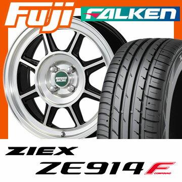【送料無料】 205/40R17 17インチ HAYASHI RACING ハヤシストリート タイプSTL 6.5J 6.50-17 FALKEN ファルケン ジークス ZE914F サマータイヤ ホイール4本セット