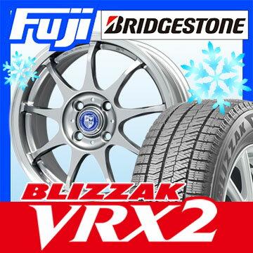 【送料無料】 BRIDGESTONE ブリヂストン ブリザック VRX2 185/60R15 15インチ スタッドレスタイヤ ホイール4本セット PREMIX プレミックス クールエコ 6J 6.00-15