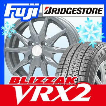 【送料無料】 BRIDGESTONE ブリヂストン ブリザック VRX2 175/70R14 14インチ スタッドレスタイヤ ホイール4本セット BRANDLE ブランドル 008 5.5J 5.50-14