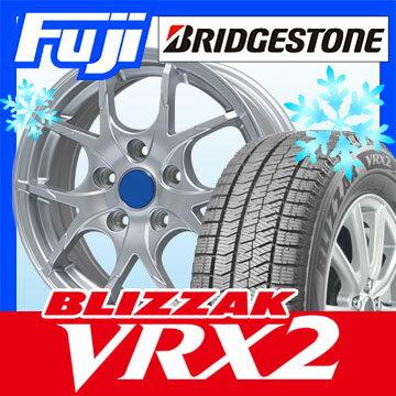 【送料無料】 BRIDGESTONE ブリヂストン ブリザック VRX2 195/60R15 15インチ スタッドレスタイヤ ホイール4本セット BRANDLE ブランドル M69 6J 6.00-15