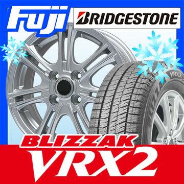 【送料無料】 BRIDGESTONE ブリヂストン ブリザック VRX2 175/70R14 14インチ スタッドレスタイヤ ホイール4本セット BRANDLE ブランドル M68 5.5J 5.50-14
