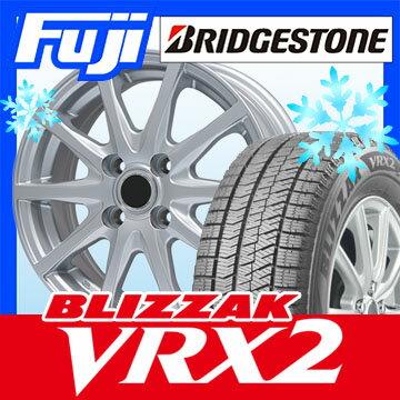 【送料無料】 BRIDGESTONE ブリヂストン ブリザック VRX2 165/65R14 14インチ スタッドレスタイヤ ホイール4本セット BRANDLE ブランドル M71 5.5J 5.50-14